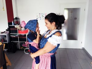 Yasmin mit Tochter