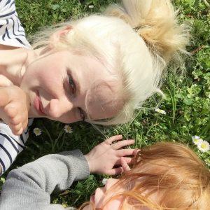 Sarah mit Tochter