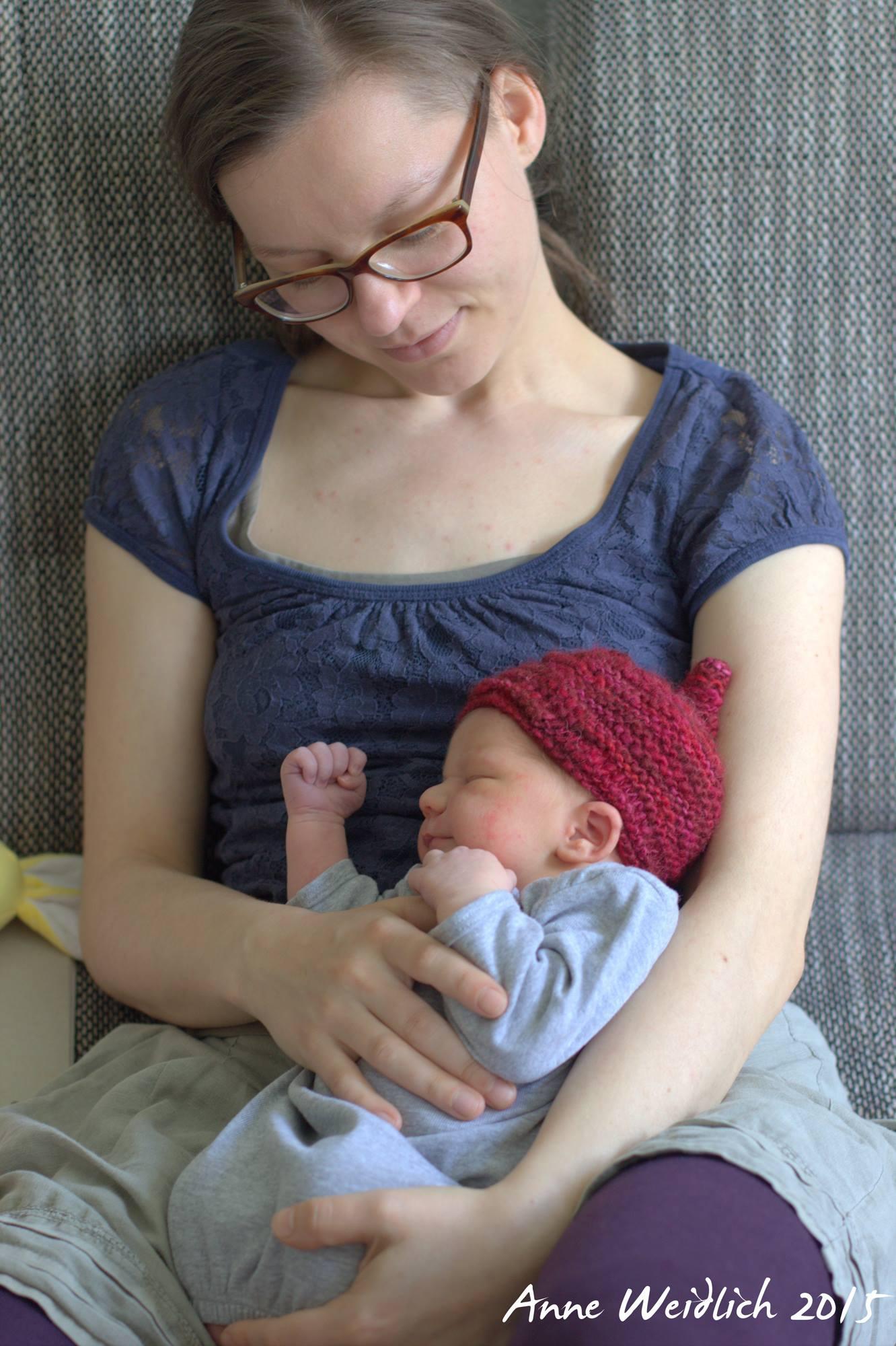 Doula Anne mit Baby