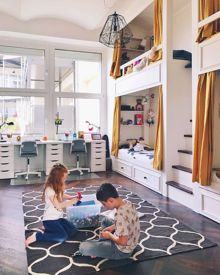 Minimalismus im Kinderzimmer › Das frühe Vogerl